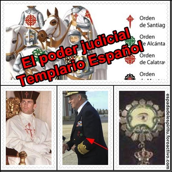 El poder judicial templario Español