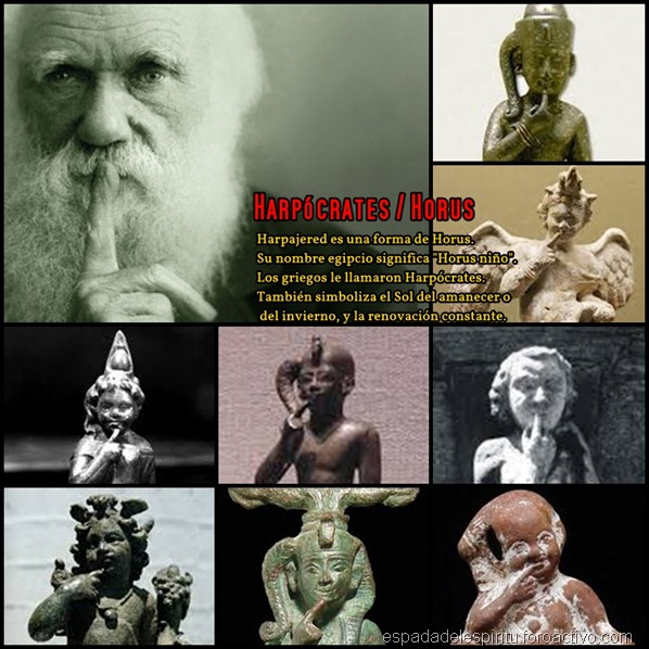Harpócrates-horus-darwin
