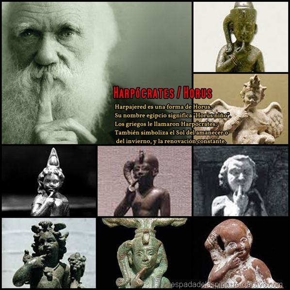 Erasmus Darwin, el abuelo de Charles Darwin, y real mente detrás de la Teoría de la Evolución era Masón! Harpcrates-horus-darwin_thumb